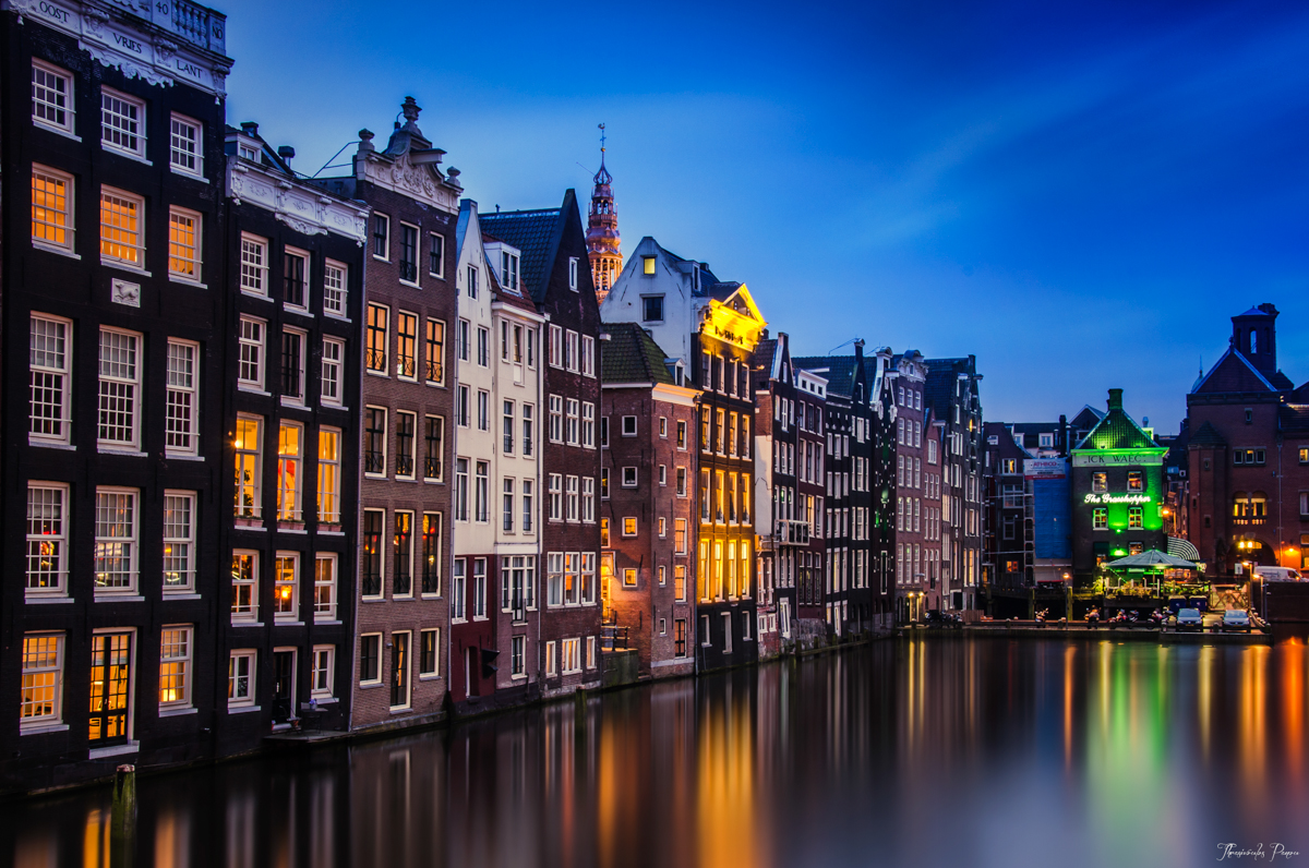 Blue Hour In Amsterdam