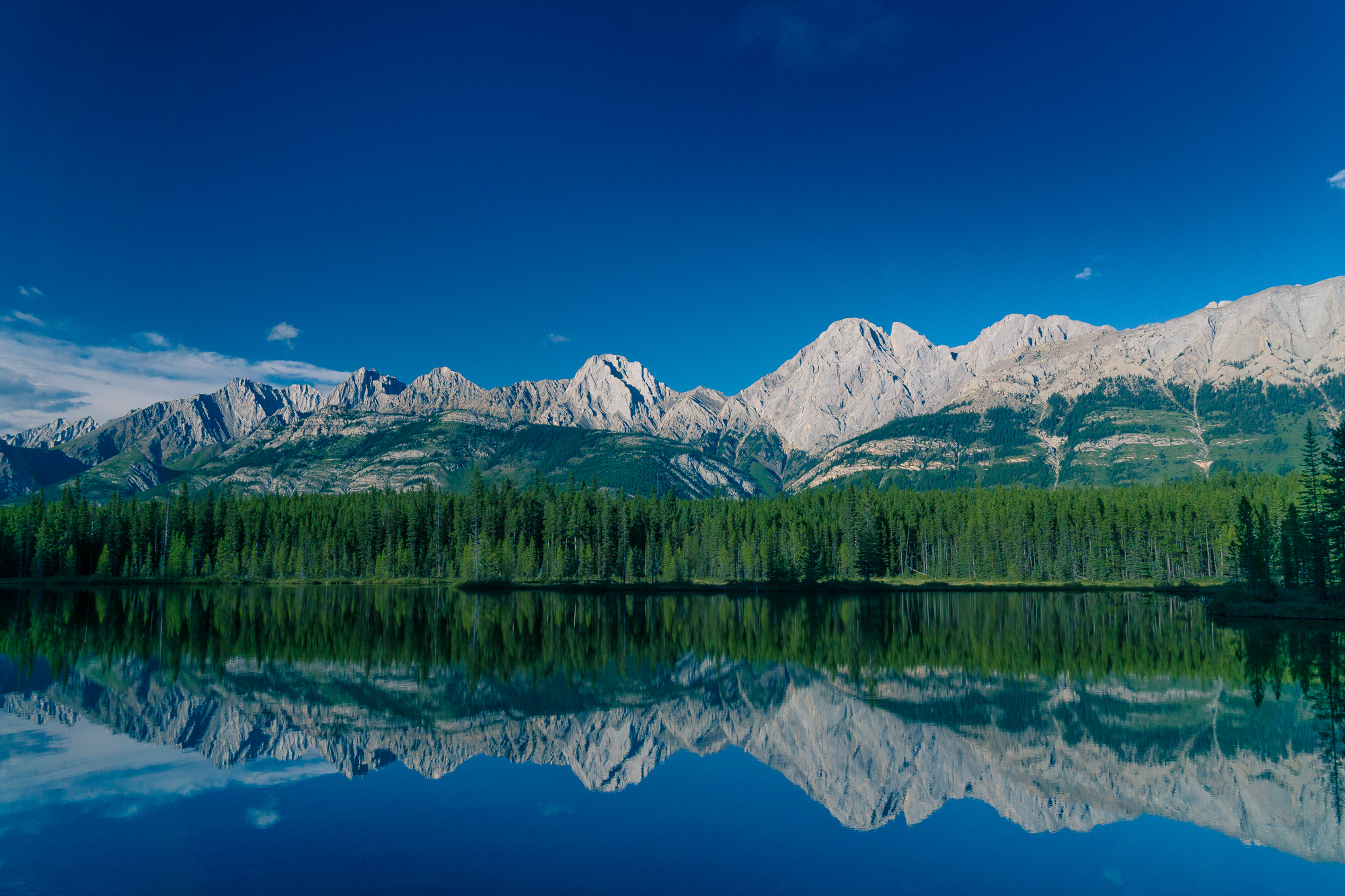 Mountains Reflecting