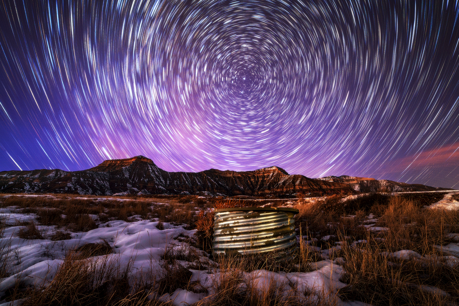 Star Trails of the Roan