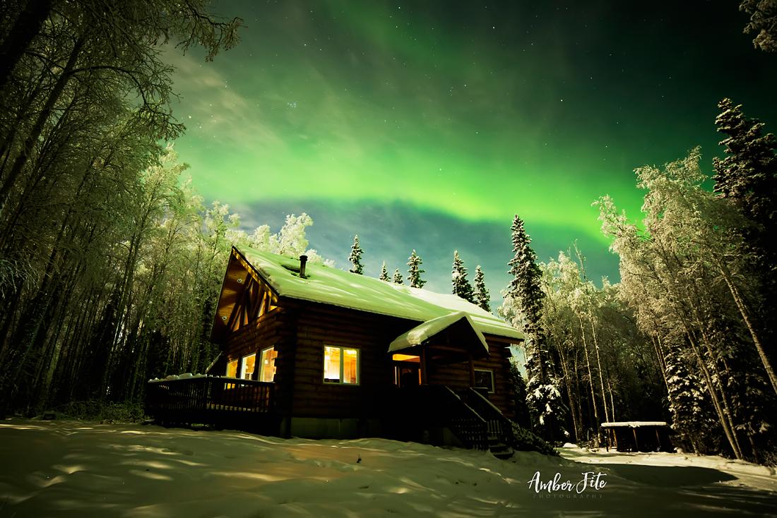 Amber Fite Photography - Northern Lights Alaska