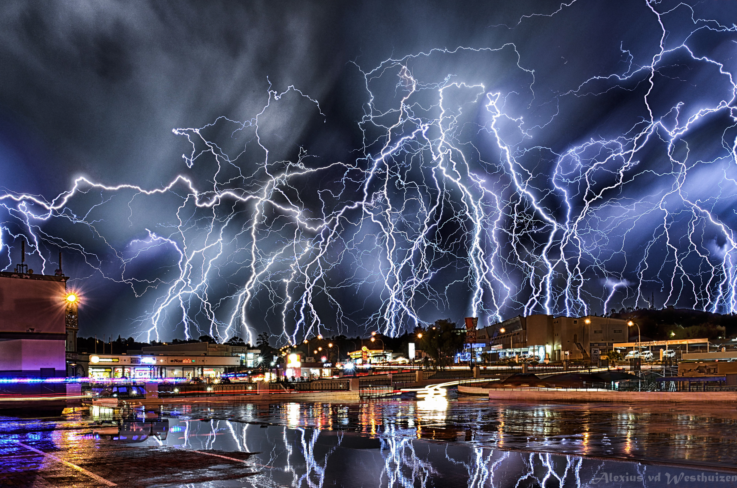 Extreme electric storm