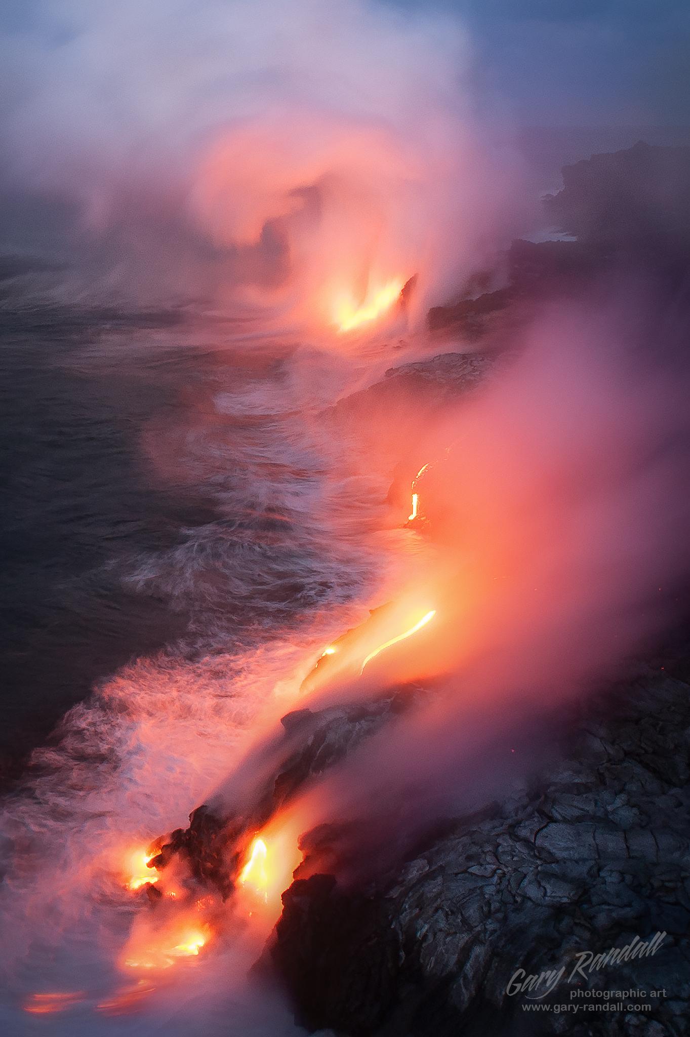 Kalapana Lava Hawaii
