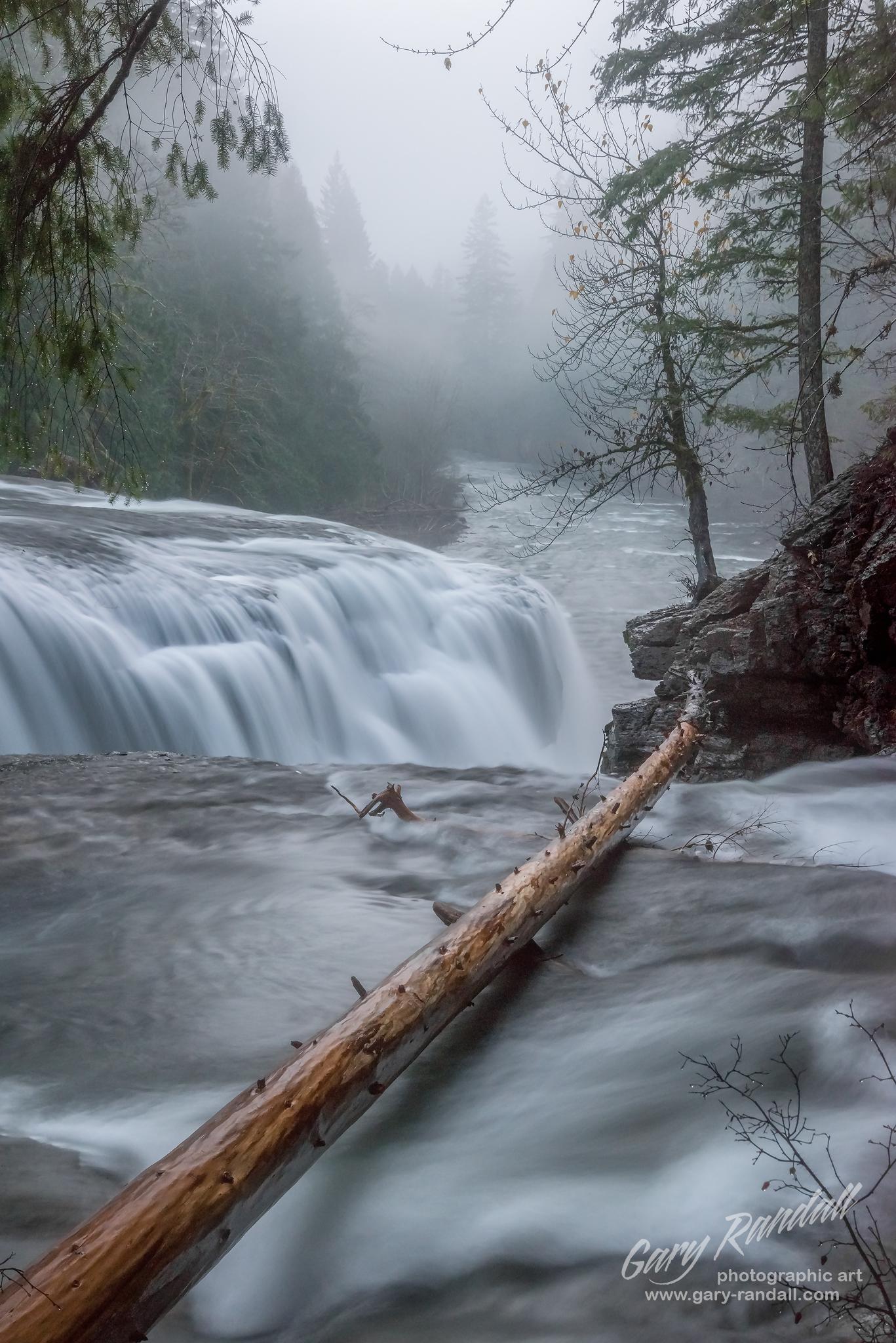Lower Lewis River Falls Washington
