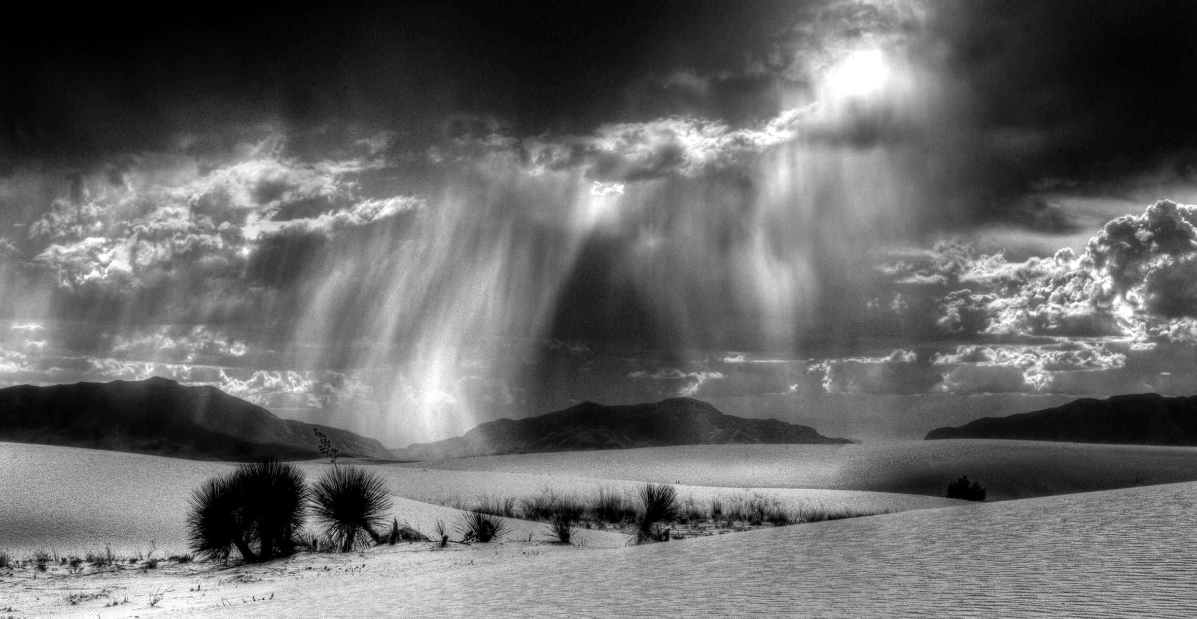 White Sands in Monsoon Season