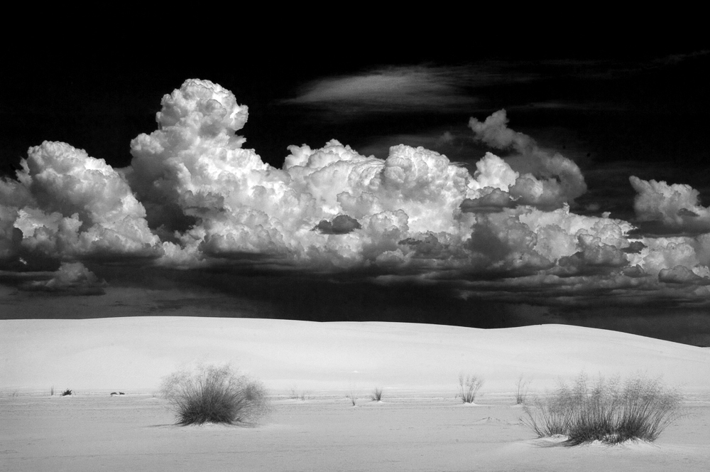 White Sands Thunderheads