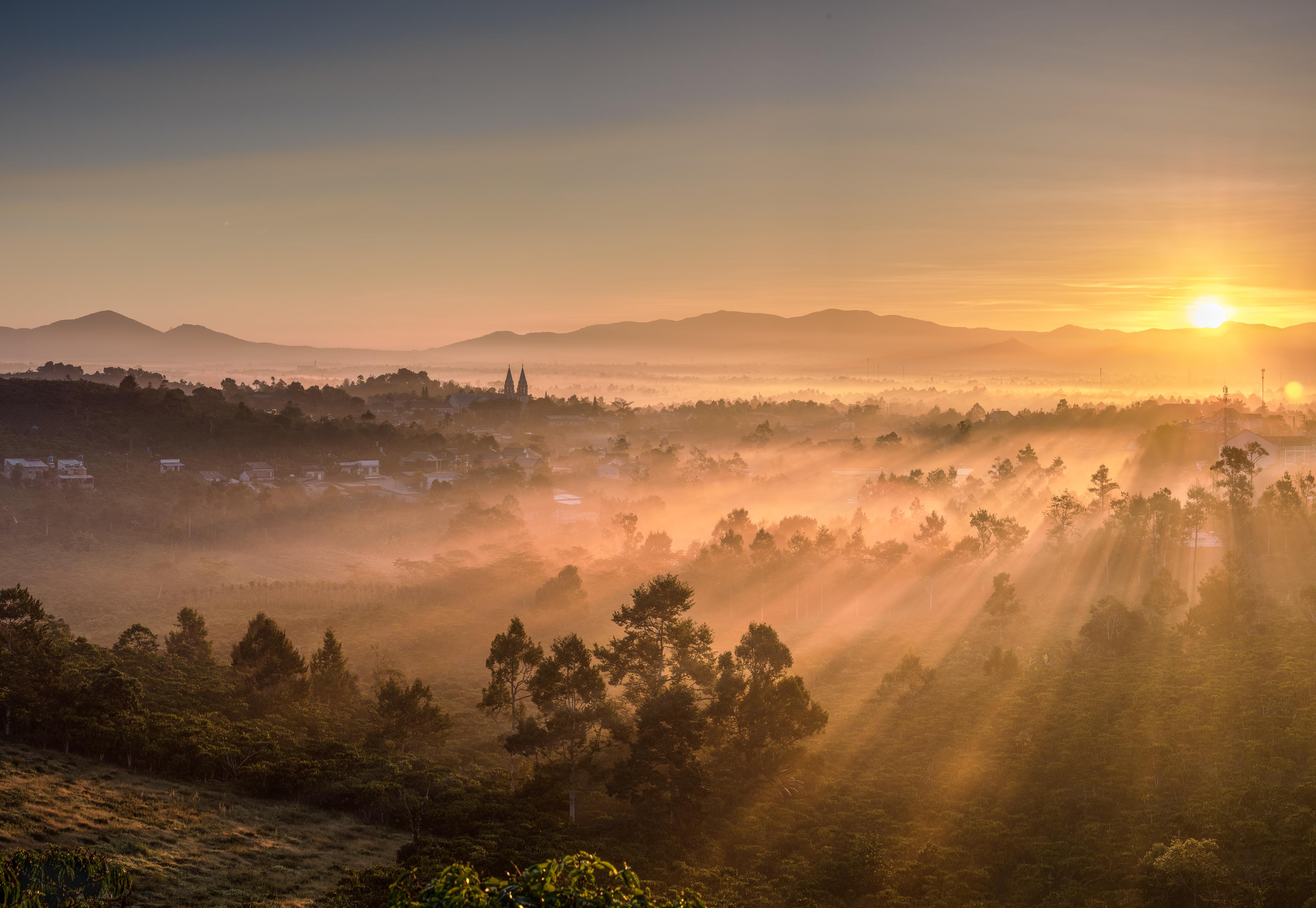Thanh Xa Hill - Vietnam