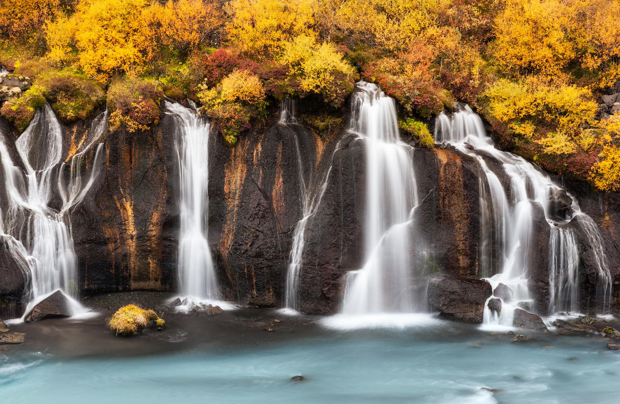 Autumn Lava Falls