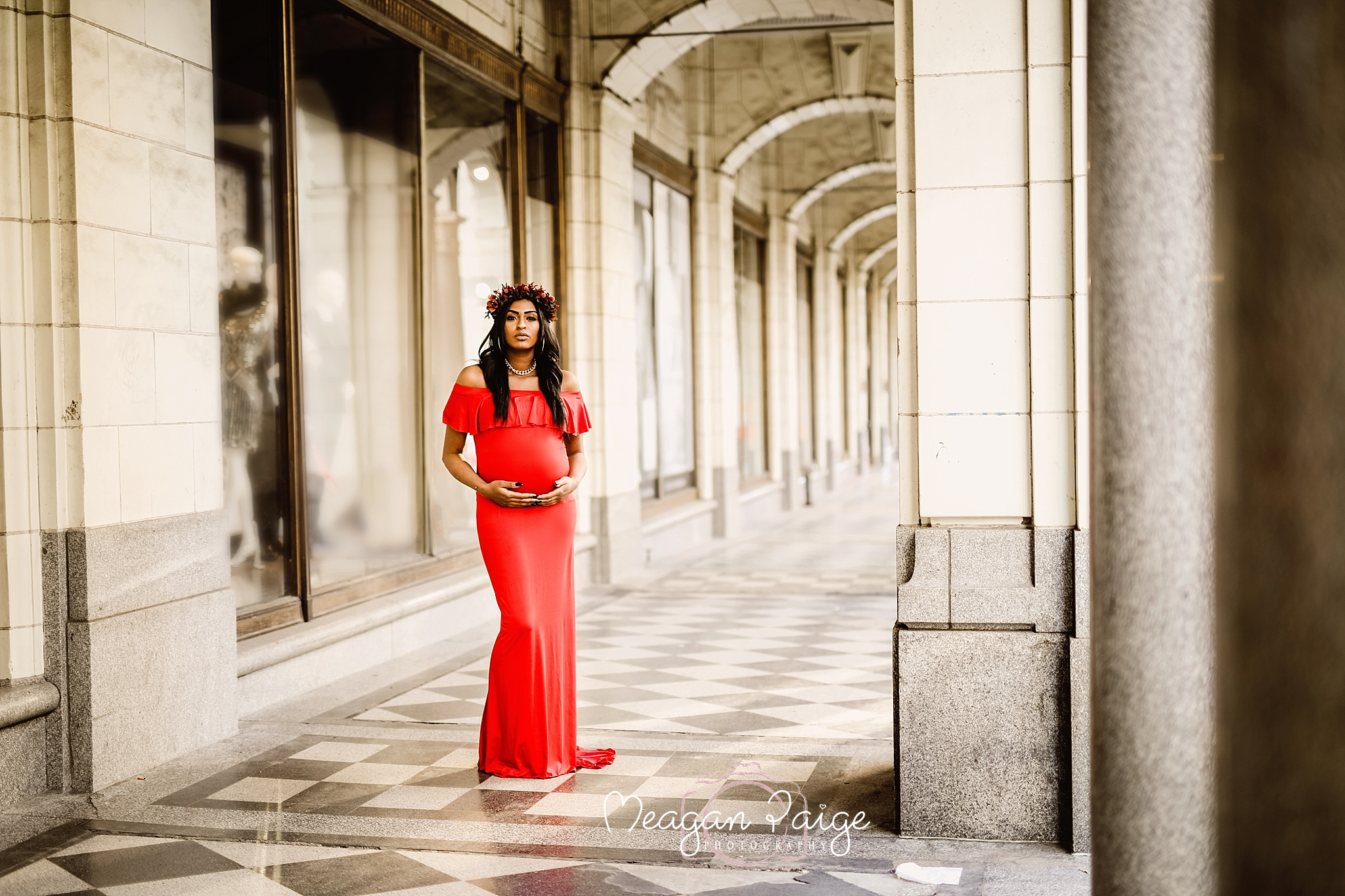 Calgary Downtown Maternity Session - Meagan Paige Photography1