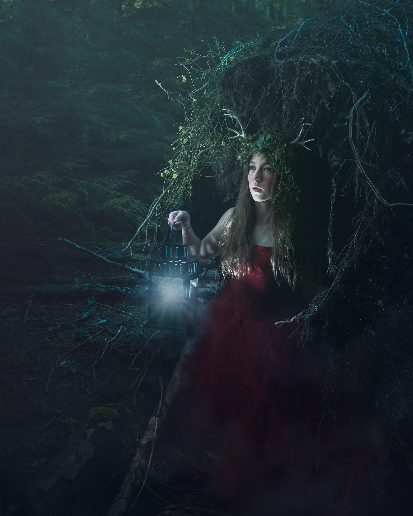 alana-lee-photography-girl with antlers