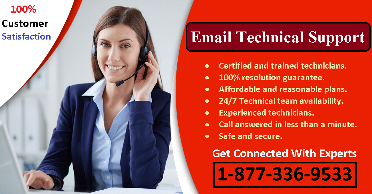 Email Technical Support 1-877-336-9533