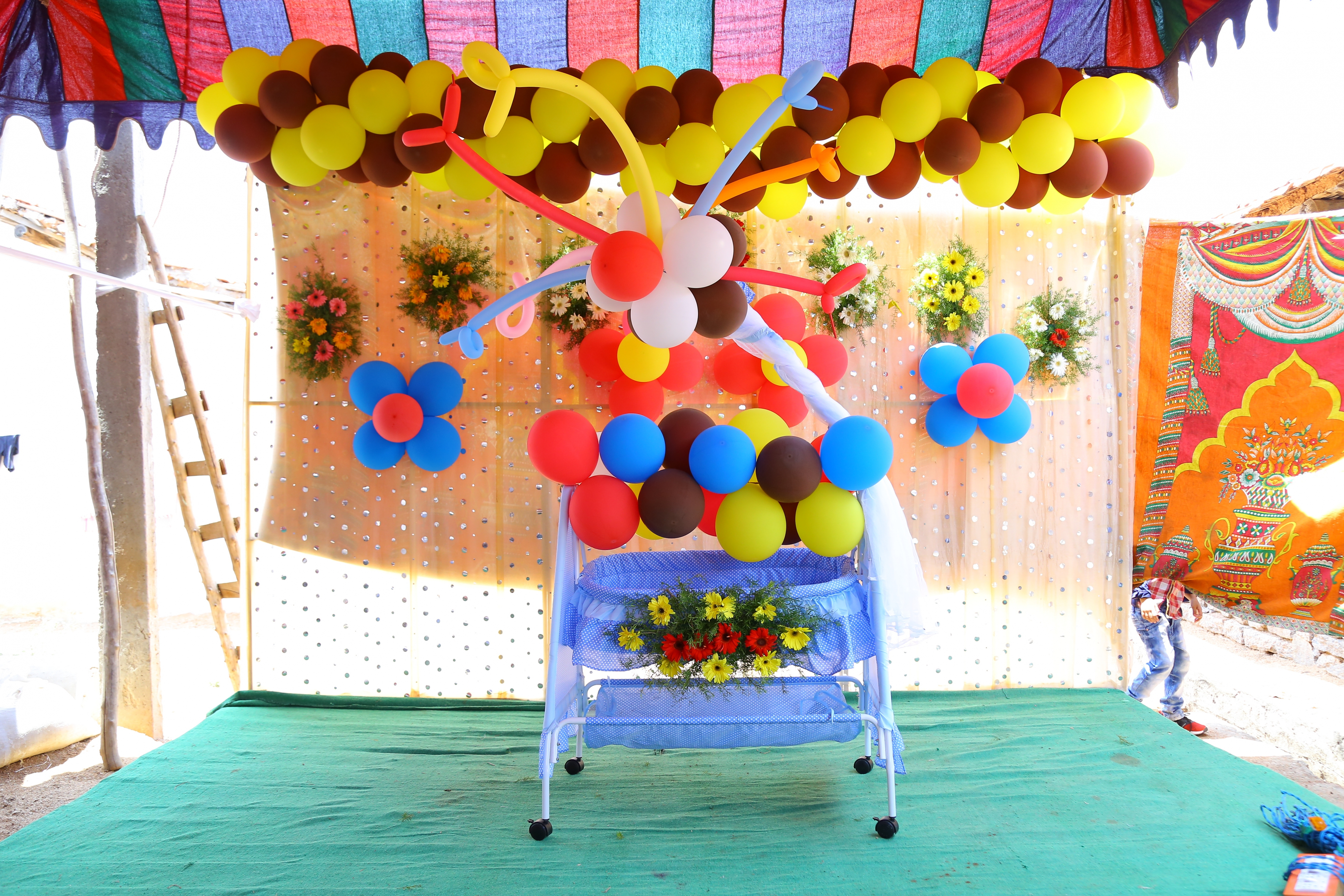 cradle ceremony decoratin