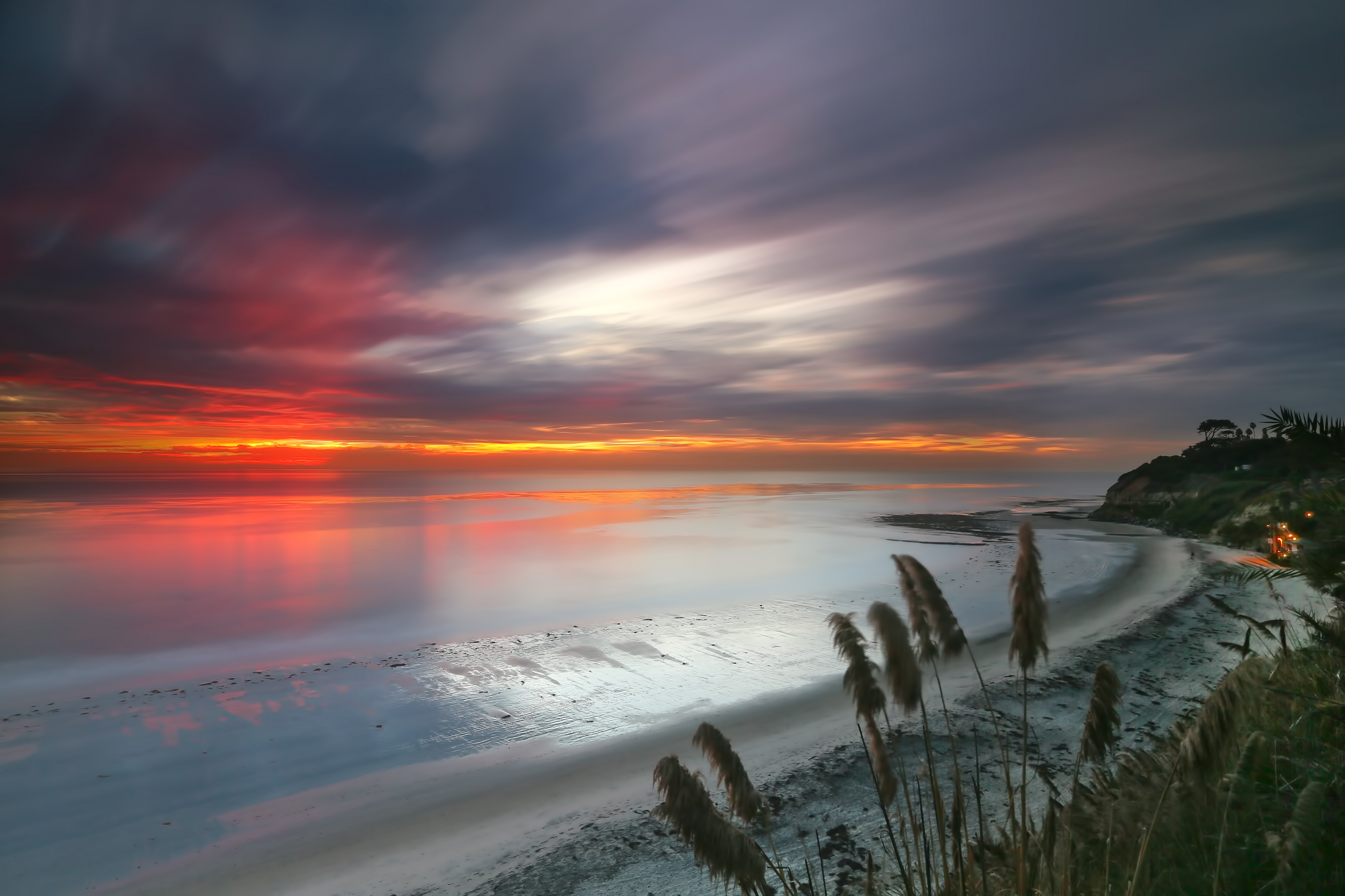 Swamis Sunset - Encinitas California