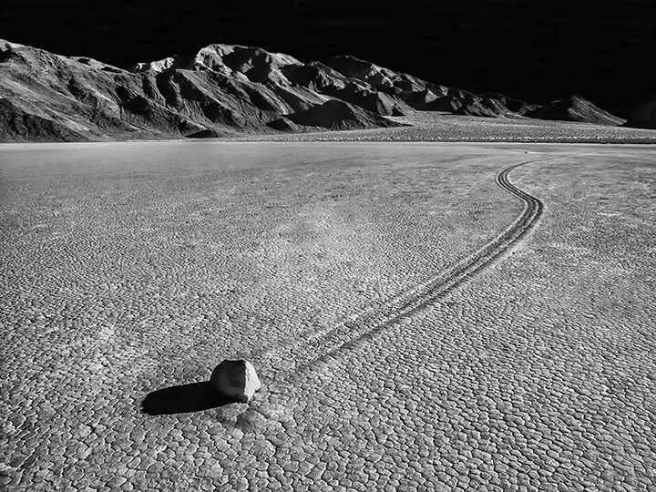 The Race Track, Death Valley.