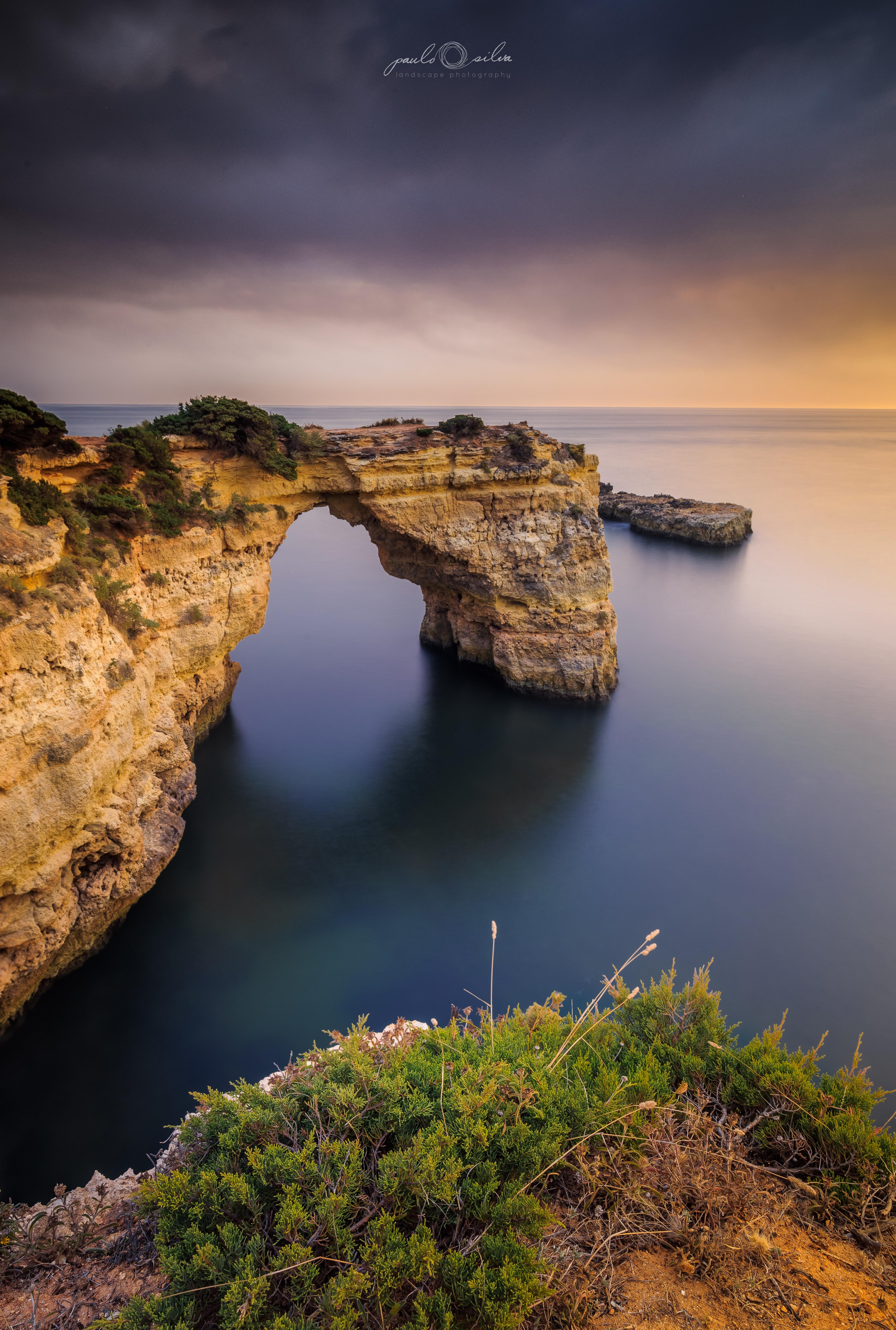 Sunset at Albandeira, Algarve - Portugal