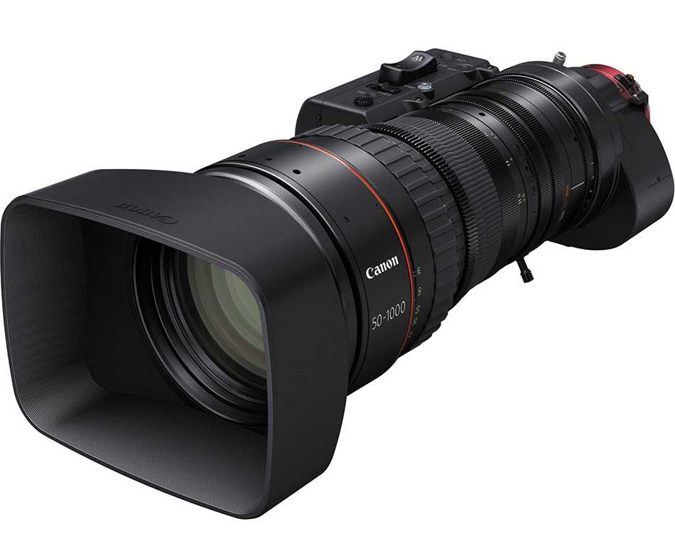 canon cine servo 50 1000mm lens image