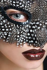 girl in mask image