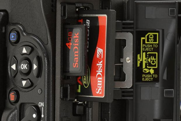 how to select a memory card image